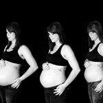 Увеличение живота при беременности, изменение его формы и появление растяжек