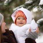 Сколько гулять с грудничком зимой?